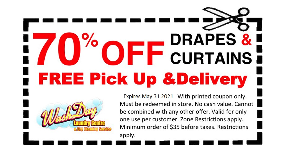 July coupons drapes curtains free pick up delivery